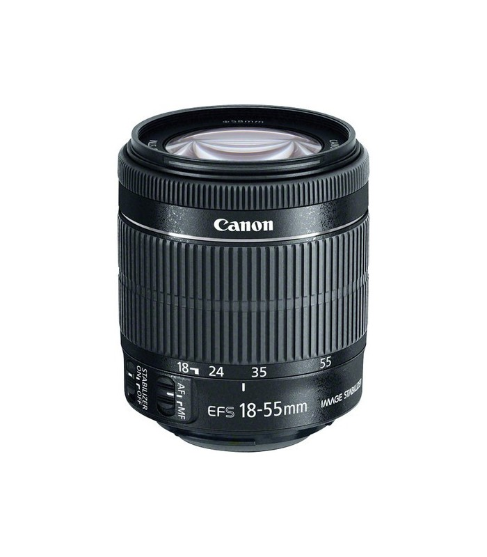 لنز دست دوم Canon مدل EF-S 18-55mm f3.5-5.6 IS STM