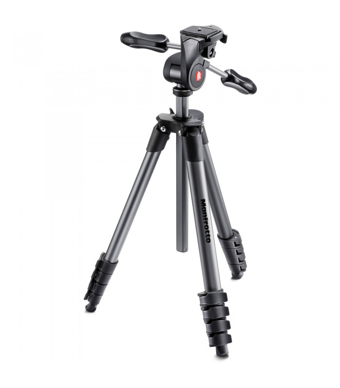 Manfrotto Compact Advanced Aluminum Tripod - MKCOMPACTADV