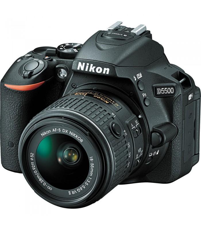 Nikon D5500 + 18-55