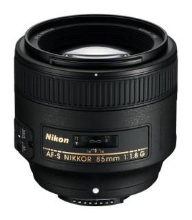 لنز دست دوم نیکون مدل AF-S NIKKOR 85mm f/1.8G
