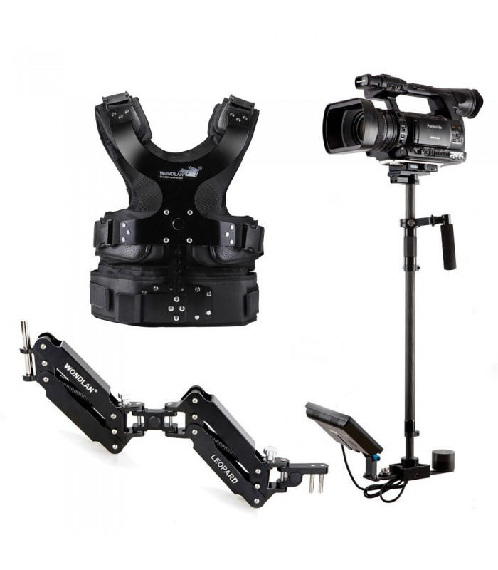 Wondlan Double-Arm Steadycam Leopard Ⅲ Stabilizer LE304