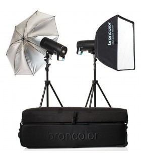 Broncolor Siros 400 S WiFiRFS 2.1 Expert 2-Light Kit