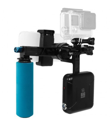 Big Balance Bronco B01 Single-Axis Handheld Gimbal Stabilizer for Smartphones and Action Cameras