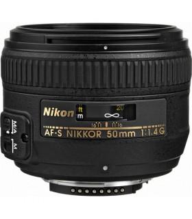 لنز دست دوم نیکون مدل AF-S 50mm f/1.4G