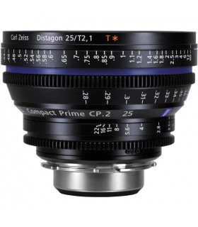 Zeiss CP.2 25mm/T2.1 Compact Prime - PL Mount