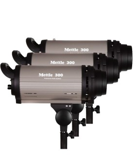 Mettle 300J Studio Flash Kit MT-300