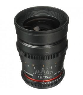 Samyang 35mm T1.5 Cine - Canon Mount