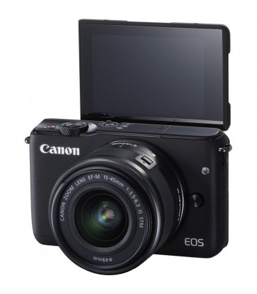 Canon EOS M10 Mirrorless Digital Camera with 15-45mm Lens