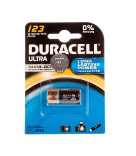 Duracell 123 Cell Ultra Battrey