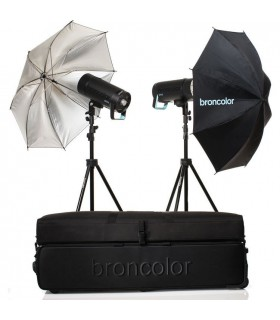 Broncolor Siros 400 Basic 2-Light Kit