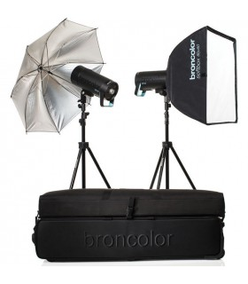 Broncolor Siros 400 S WiFi PW Expert 2-Light Kit