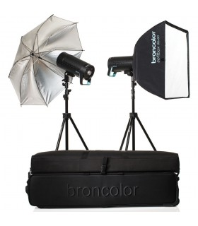 Broncolor Siros 800 S WiFi PW Expert 2-Light Kit