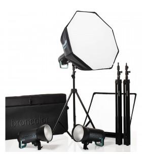 Broncolor Siros 800 S WiFi PW Pro 3-Light Kit