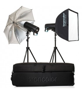 Broncolor Siros 800 S WiFi RFS 2.1 Expert 2-Light Kit