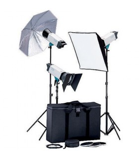 Broncolor Visatec Solo 316 1600B 3-Monolight Kit