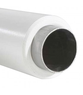Background Roll 3m x 5m White with Iron Tube