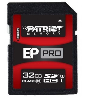 Patriot EP Pro Series SDHC 32GB UHS-I