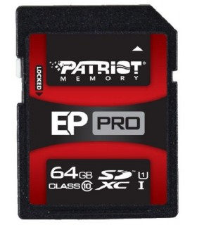 Patriot EP Pro Series SDXC 64GB UHS-I