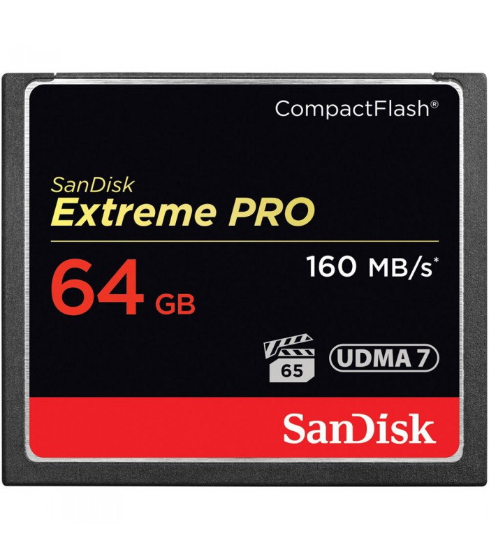 SanDisk 64GB Extreme Pro (160MB/s) Compact Flash