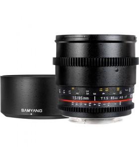 لنز سینمایی دست دوم Samyang مدل 85mm T/1.5 مانت کانن