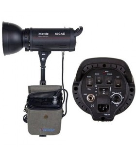 Mettle 600J Battery/AC Studio Flash Head MT-600AD