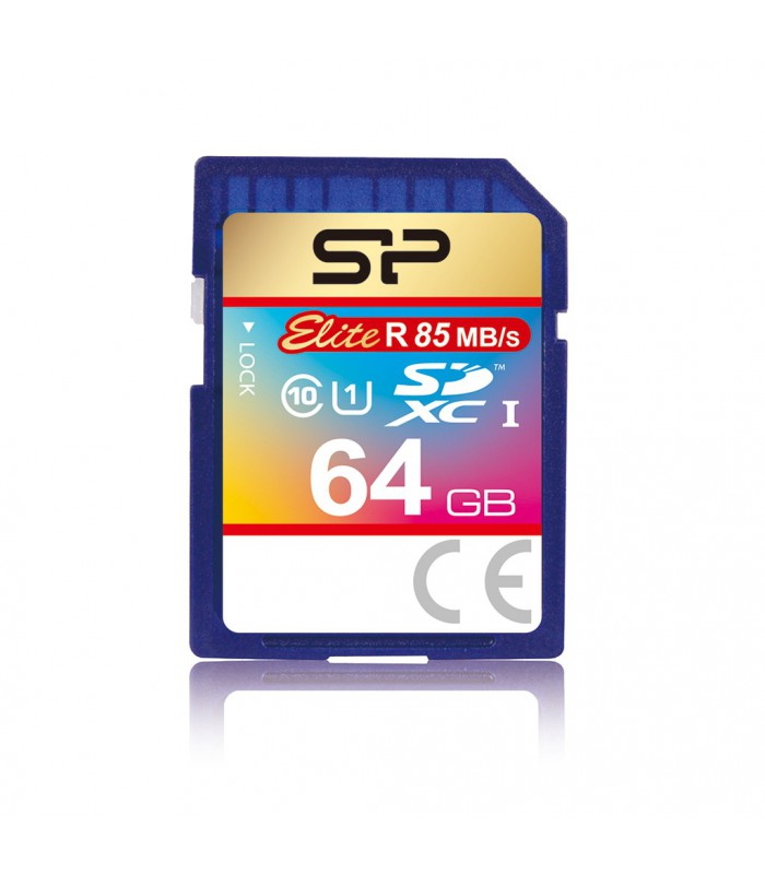 Silicon Power 64GB SDXC 85MB/s UHS-1 Elite