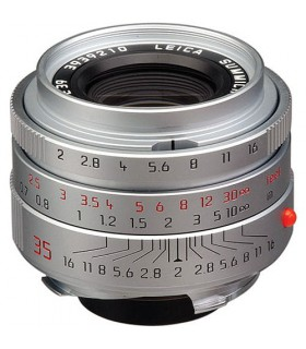 Leica Wide Angle 35mm f/2.0 Summicron M Aspherical Manual Focus Lens (6-Bit, Updated for Digital) - Chrome