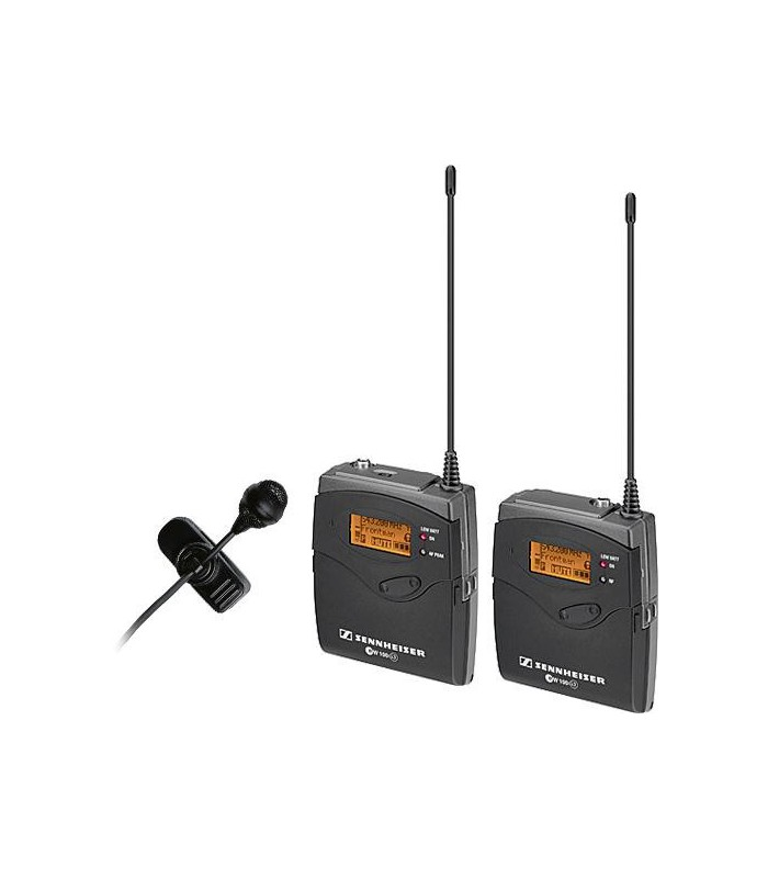 Sennheiser ew 122-p G3 Camera Mount Wireless Microphone System with ME 4 Lavalier Mic - A