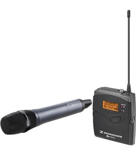 Sennheiser ew 135-p G3 Camera Mount Wireless Microphone System with 835 Handheld Mic - A