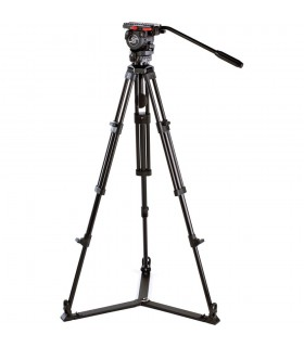 Sachtler 0771 Aluminum Tripod System with FSB 8 Head. ENG 752 D Legs & Ground Level Spreader