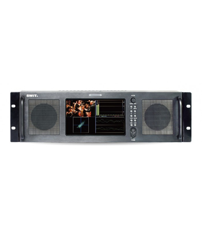 "-SWIT M-1071A 7""-inch HD Audio Analysis Rack LCD Monitor"