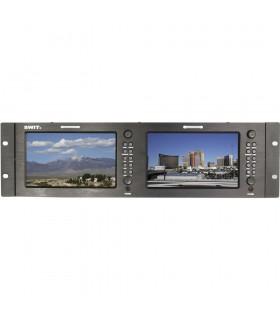 "SWIT M-1071C Dual 7"" HDMI Rack LCD Monitor"