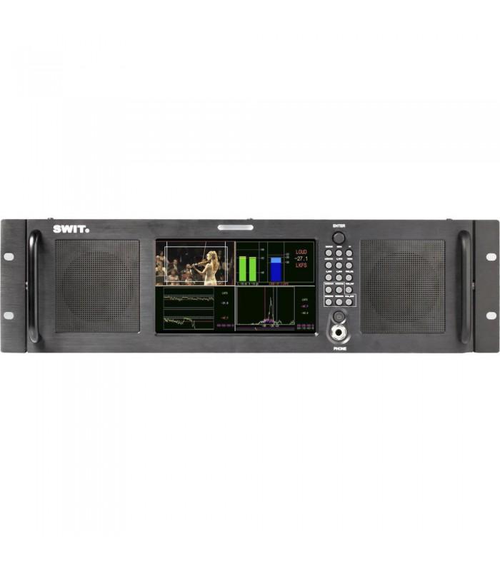 """SWIT M-1072A 7"""" HD-SDIHDMI Audio Loudness LCD Monitor (3 RU)"""