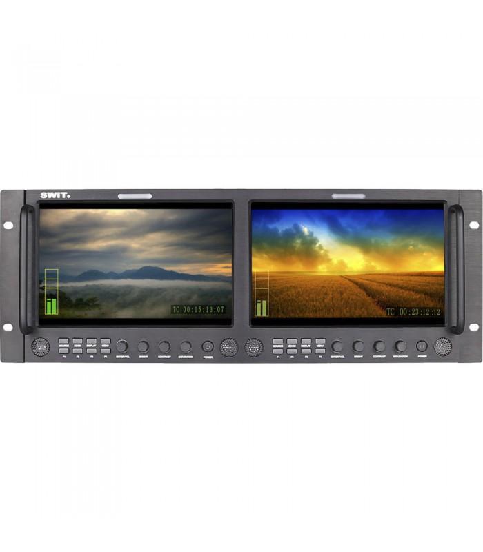 "SWIT M-1092H Dual 9"" Full HD SDIHDMI Rack LCD Monitor"