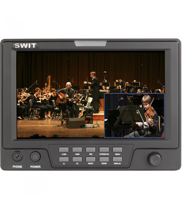 "SWIT S-1071F (EFP) 7"" EFP Field LCD Monitor with Picture-in-Picture Function and Dual HD Video Input"