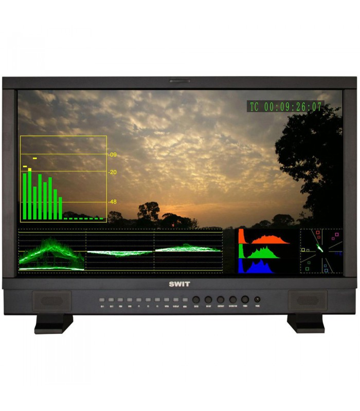 "SWIT S-1242F 23.8"" Full HD SDIHDMI Waveform Studio Monitor"