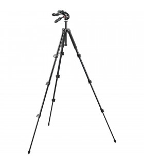 Manfrotto Aluminum Tripod 4S with 3-Way Pan Head - MK293A4-D3Q2
