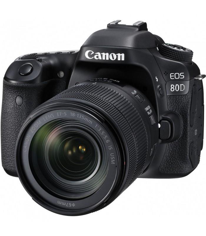 Canon EOS 80D + 18-135mm