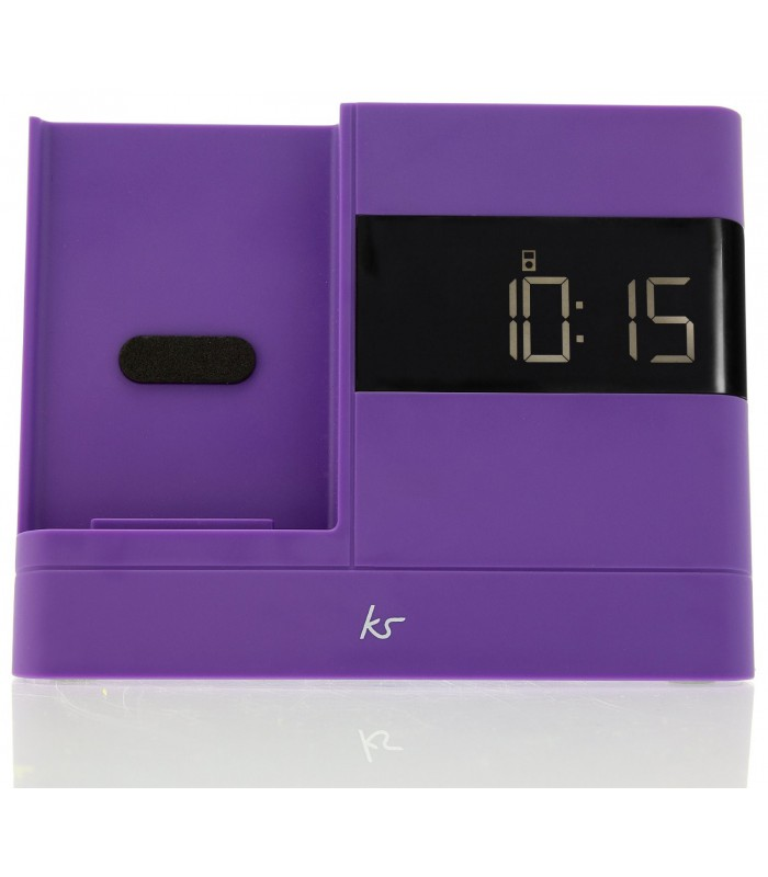 KitSound XDock2 Lightning Connector Clock Radio Dock