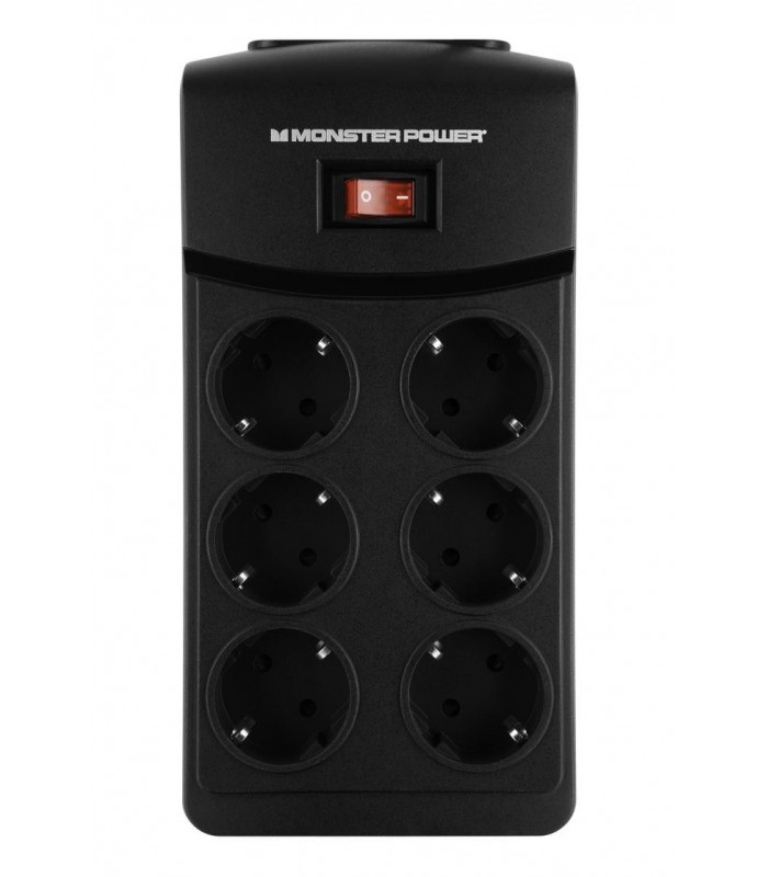 Monster 6 Sockets 1.5m Cord MP ME 600 DE