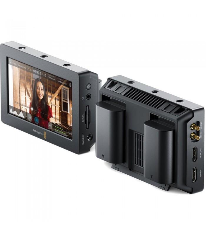Blackmagic Design Video Assist HDMI6G-SDI Recorder and 5 Monitor