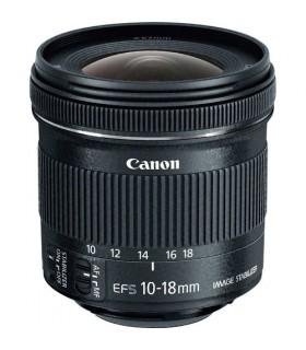لنز دست دوم Canon مدل EF-S 10-18mm f/4.5-5.6 IS STM