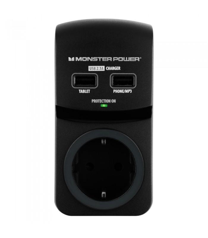 Monster Plus 2 USB Charging Ports MP EXP 100U DE