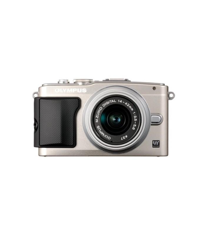 Olympus E-PL5 Mirrorless Micro Four Thirds Digital Camera with 14-42mm f3.5-5.6 II R Lens