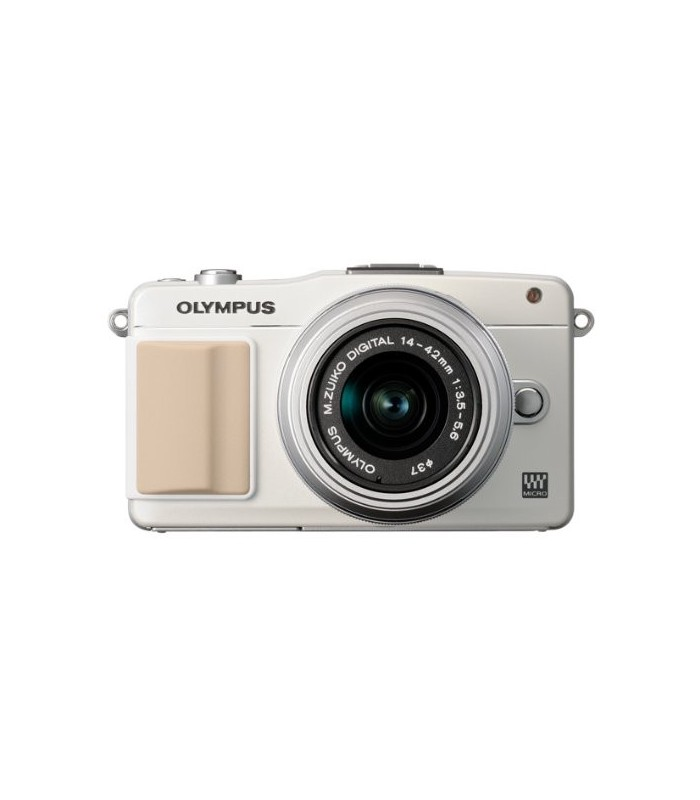 Olympus E-PM2 Mirrorless Micro Four Thirds Digital Camera with 14-42mm f3.5 - 5.6 II Lens