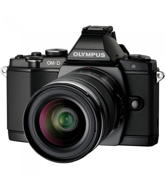 Olympus OM-D E-M5 Mirrorless Micro Four Thirds Digital Camera with 12-50mm Lens