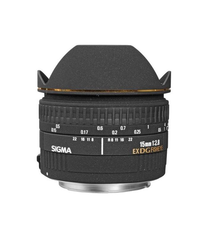 Sigma 15mm f2.8 EX DG - Canon Mount