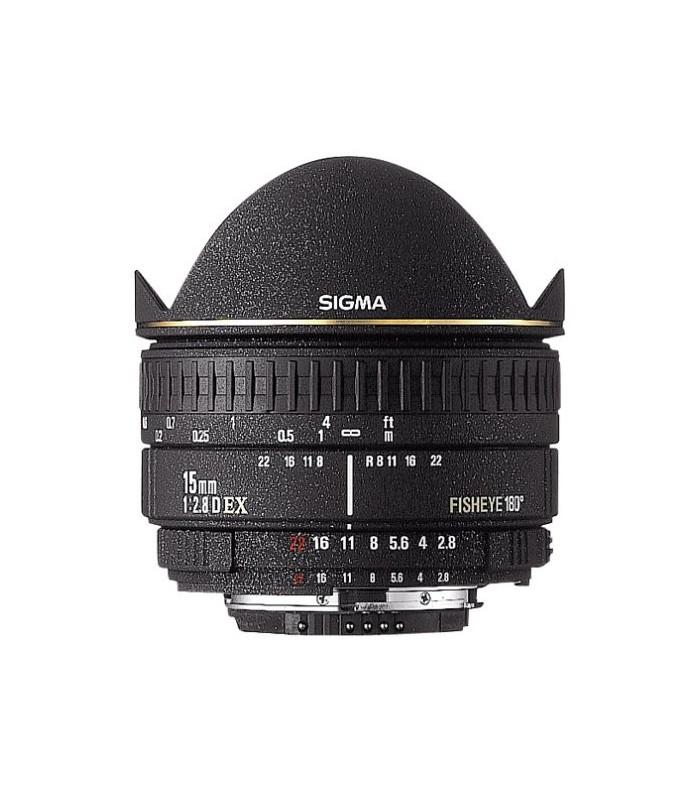 Sigma 15mm f2.8 EX DG - Nikon Mount