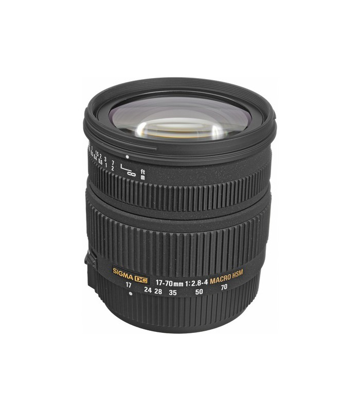 Sigma 17-70mm f2.8-4 DC MACRO OS HSM - Canon Mount