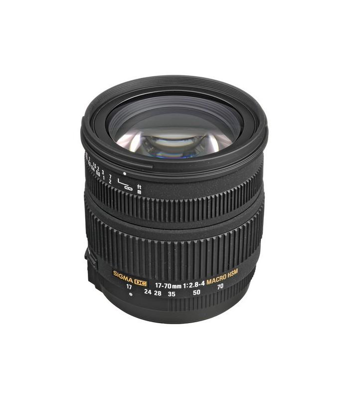 Sigma 17-70mm f2.8-4 DC MACRO OS HSM - Nikon Mount